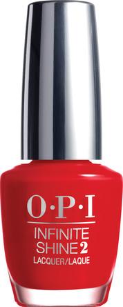 OPI Infinite Shine Neglelak Unequivocally Crimson