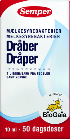 Semper BioGaia mælkesyrebakteriedråber 10 ml