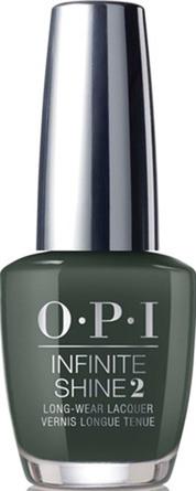 OPI Infinite Shine Neglelak Thing's I've Seen in Aber-Green