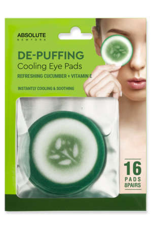 Absolute New York Cooling Eye Pad Cucumber