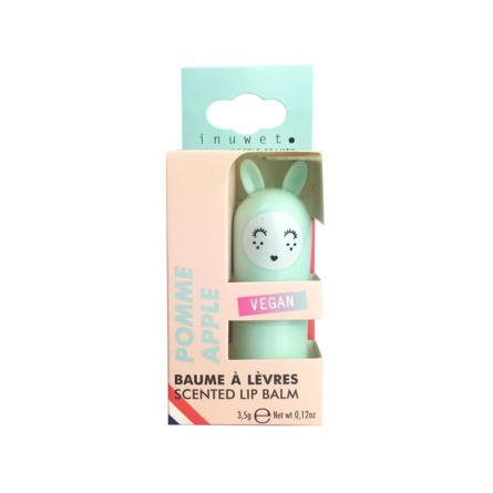 INUWET Cute Bunny Lip Balm Apple