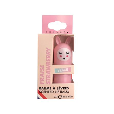 INUWET Cute Bunny Lip Balm Strawberry