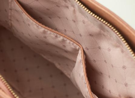 Rosemunde Shopper Dyb Rosé, 32x36 cm