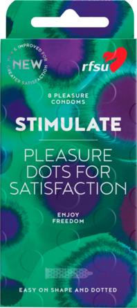 RFSU Stimulate Kondomer 8 stk
