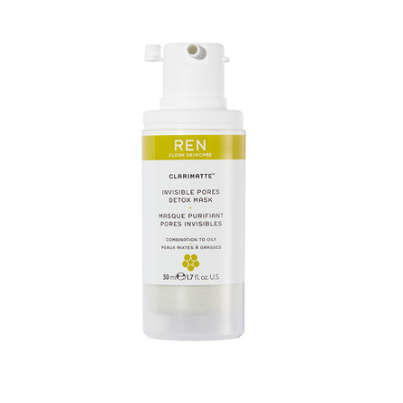 REN Clean Skincare Clarimatte Invisible Pores Detox Mask 50 ml