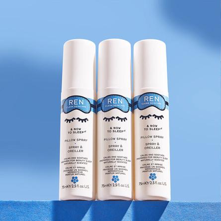 REN Clean Skincare & Now To Sleep Pillow Spray 75 ml