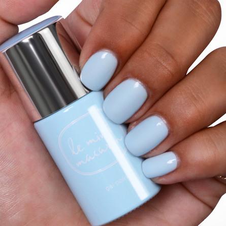Le mini macaron Single Gel Polish Blue Vanilla