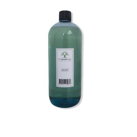 MyPureWay Genanvendelig  flaske med låg 1000 ml.