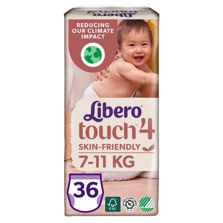 Libero Touch Pants Str. 4 36 stk.