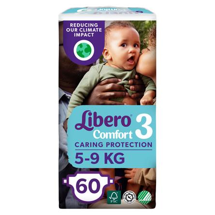 Libero Comfort str 3 Bleer 60 stk