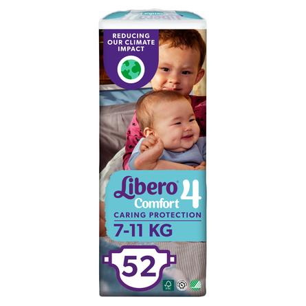 Libero Comfort str 4 Bleer 52 stk