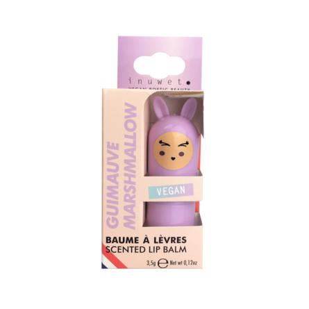 INUWET Cute Bunny Lip Balm Marshmallow