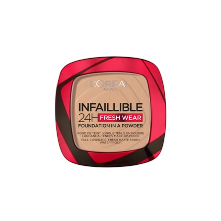 L'Oréal Paris Infaillible 24h Fresh Wear Foundation in a Powder. 120 Vanilla