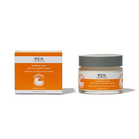 REN Clean Skincare Radiance Overnight Dark Spot Sleeping Cream 50 ml