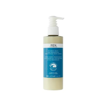 REN Clean Skincare Atlantic Kelp And Magnesium Body Cream - Ocean Plastic 200 ml