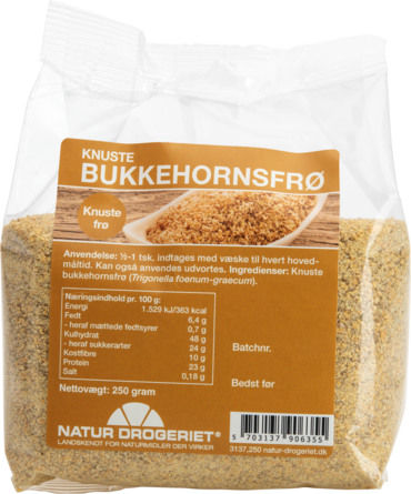 Natur Drogeriet Bukkehornsfrø Knust 250 g