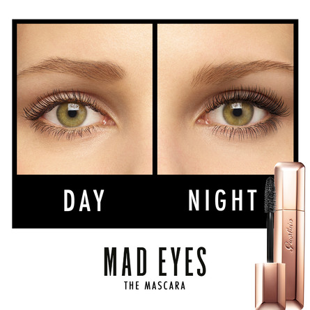 Guerlain Mad Eyes Mascara Buildable Volume Lash By Lash 01 Mad Black