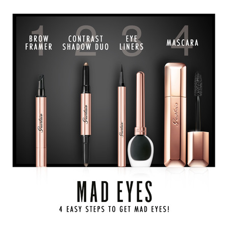 Guerlain Mad Eyes Intense Liner 01 Glossy Black