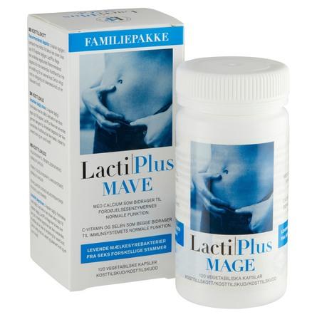Lactiplus Mælkesyrebakterier 120 kaps