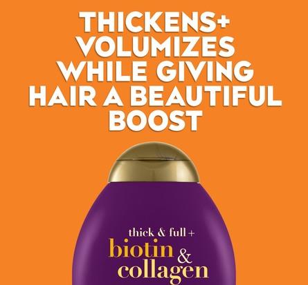 OGX Biotin Collagen Shampoo 385 ml