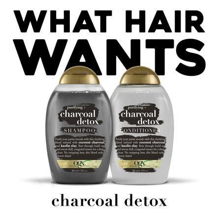 OGX Charcoal Detox Shampoo 385 ml