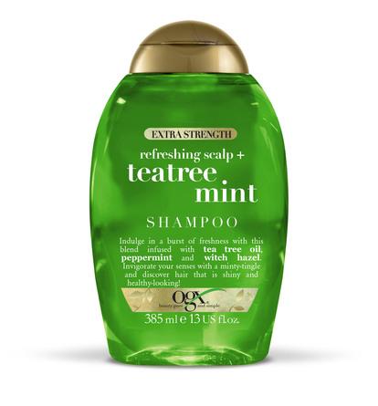 OGX Teatree Mint XS Shampoo 385 ml