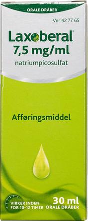 Laxoberal Dråber 7,5 mg/ml 30 ml
