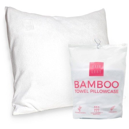 HairLust Bamboo Towel Pillowcase