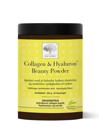 New Nordic Collagen & Hyaluronsyre Beauty Powder 360G