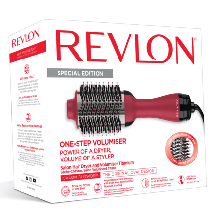 Revlon Airstyler Volumiser One-step Pro Titanium