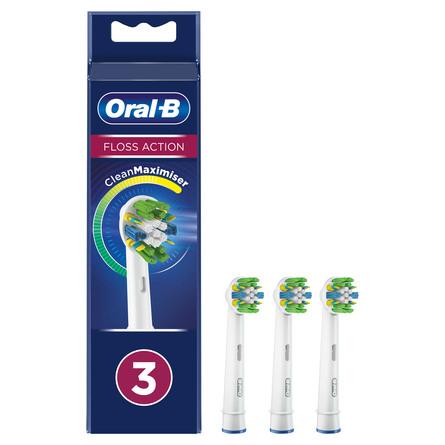 Oral-B Floss Action Børstehoveder 3 stk