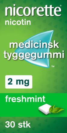Nicorette® Freshmint 2 mg 30 stk