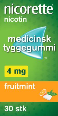 Nicorette® Nicorette Fruitmint 4 mg 30 Stk. 30 stk