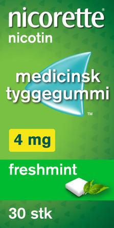 Nicorette® Freshmint 4 mg 30 stk