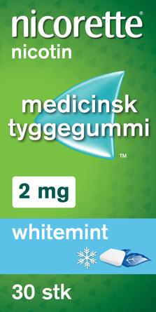 Nicorette® Nikotintyggegummi 2 mg 30 stk
