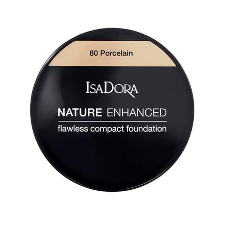 IsaDora Nature Enhanced FlawlessCompact Foundation 80 Porcelain
