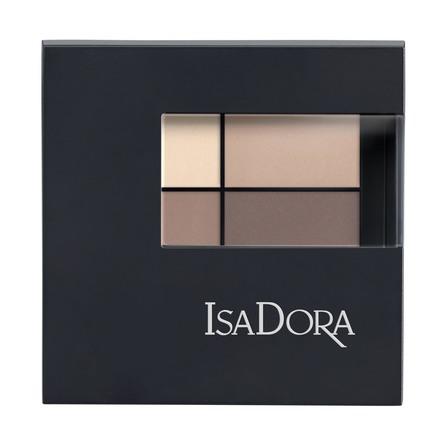 IsaDora Eyeshadow Quartet 01 Muddy Nudes