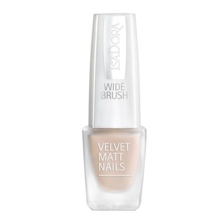 IsaDora Velvet Matt Nails Neglelak 200 Peach Cream