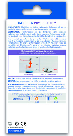 Epitact Hælsporeindlæg 2 stk, Small