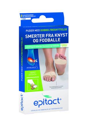 Epitact Fodpuder m/Dobbeltbeskyttelse 2 stk, Small