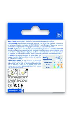 Epitact Tåbeskytter 4 stk á 5 cm, Small