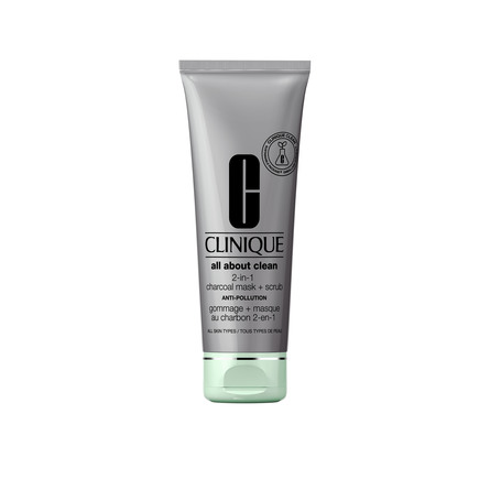Clinique All About Clean Charcoal Mask + Scrub Anti-Pollution 100 ml