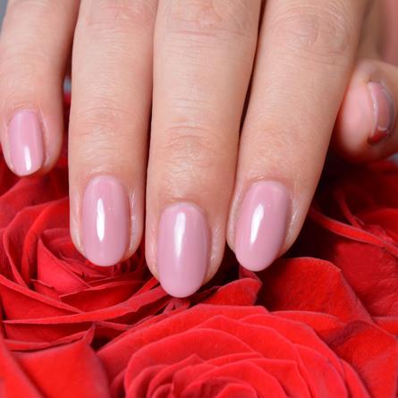 Le mini macaron Single Gel Polish Rose Antique