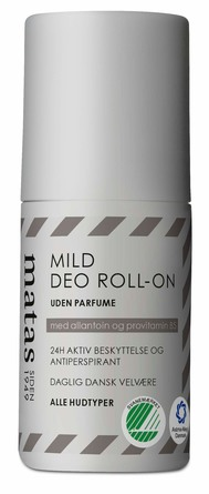 Matas Striber Mild Deo Roll-on Uden Parfume 50 ml