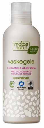 Matas Natur Aloe Vera & E-vitamin Vaskegele 200 ml
