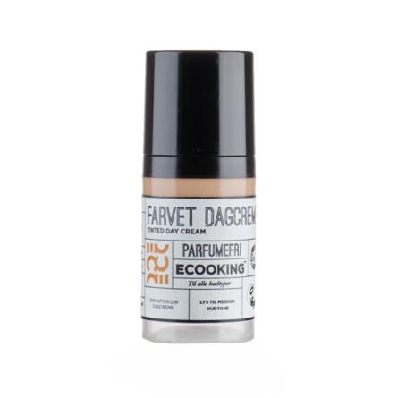 Ecooking Farvet Dagcreme 30 ml
