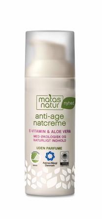 Matas Natur Aloe Vera & E-vitamin Anti-Age Natcreme 50 ml
