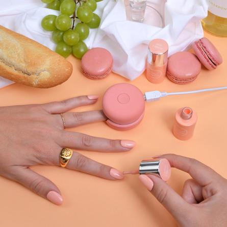 Le mini macaron Single Gel Polish Creme D'Abricot