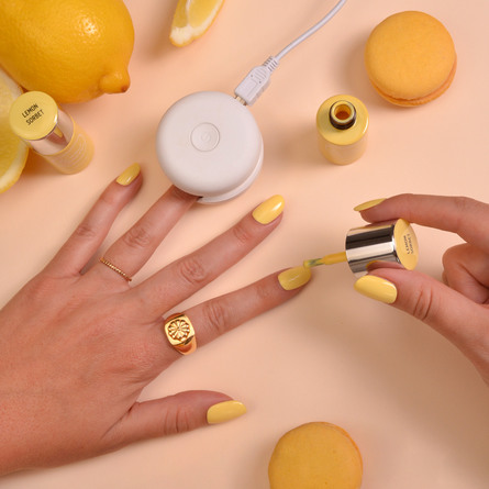 Le mini macaron Single Gel Polish Lemon Sorbet