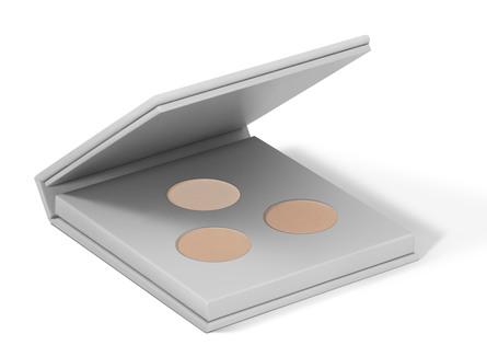 MIILD Natural Mineral Eyeshadow & Eyebrow Kit 01 Light Earth